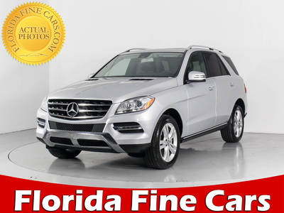 Used MERCEDES-BENZ M-CLASS 2015 WEST-PALM ML350