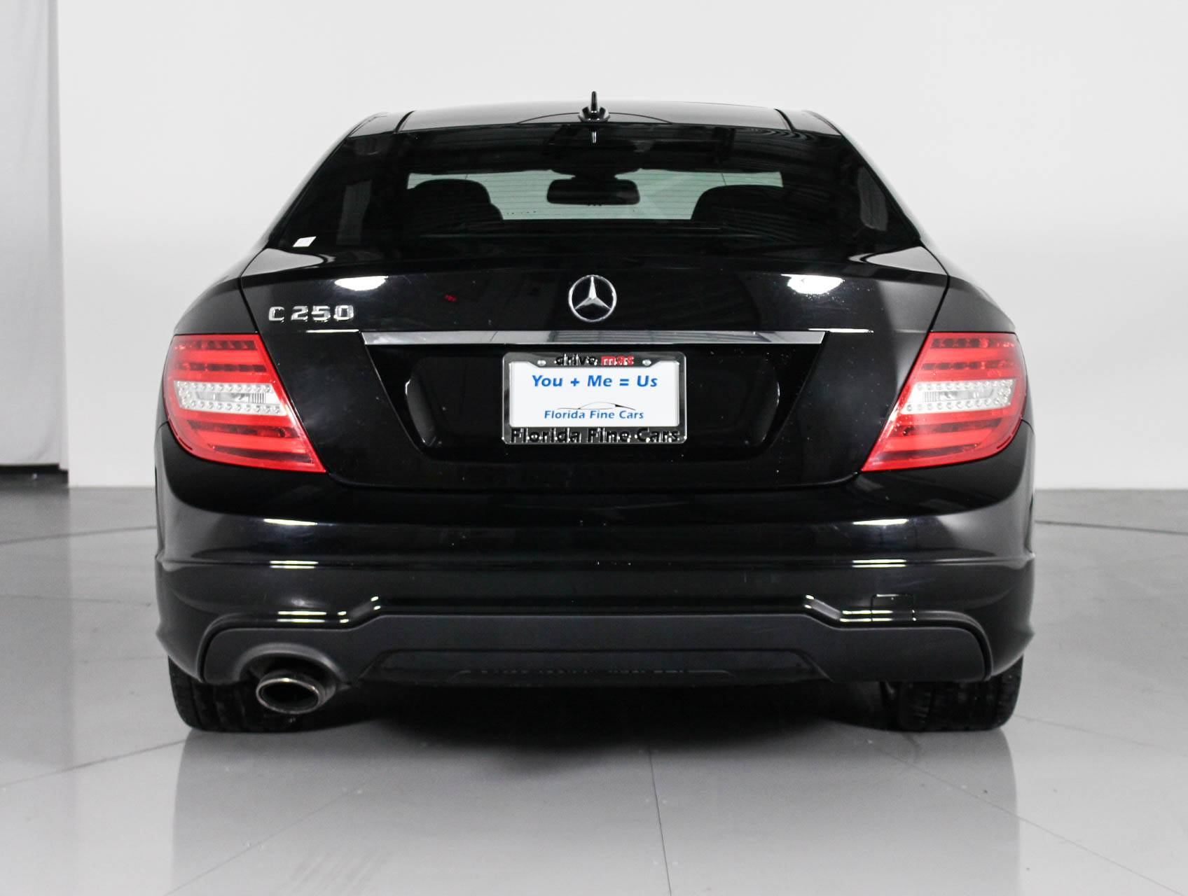 Preowned 2015 Mercedes Benz C Class C250 Coupe Black 101966 Florida Fine Cars In Margate