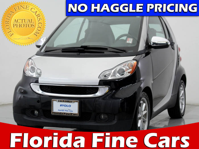 Used SMART FORTWO 2010 MIAMI PURE; PASSION COUPE