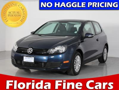 Used VOLKSWAGEN GOLF 2013 WEST PALM 2.5