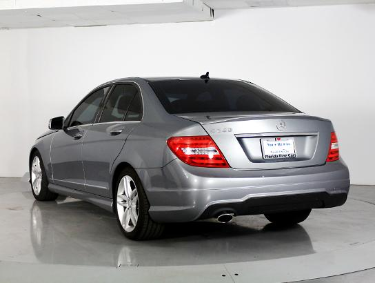 Used MERCEDES-BENZ C CLASS 2014 WEST PALM C250 Sport