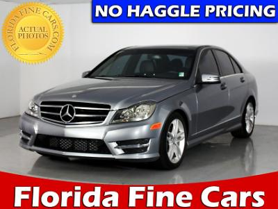 Used MERCEDES-BENZ C CLASS 2014 WEST PALM C250