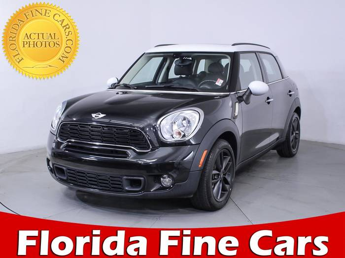 Used MINI COOPER COUNTRYMAN 2013 MIAMI S