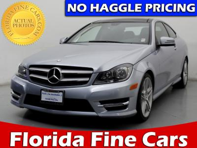 Used MERCEDES-BENZ C CLASS 2013 WEST PALM C350 4MATIC