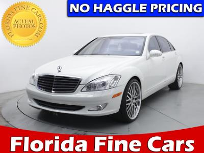 Used MERCEDES-BENZ S CLASS 2009 MIAMI S550 4MATIC