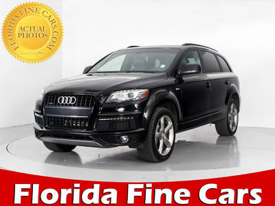 Used AUDI Q7 2015 WEST PALM S LINE