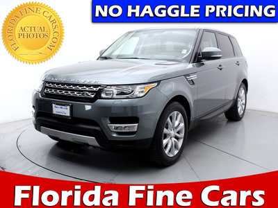 Used LAND ROVER RANGE ROVER SPORT 2015 MIAMI SUPERCHARGED