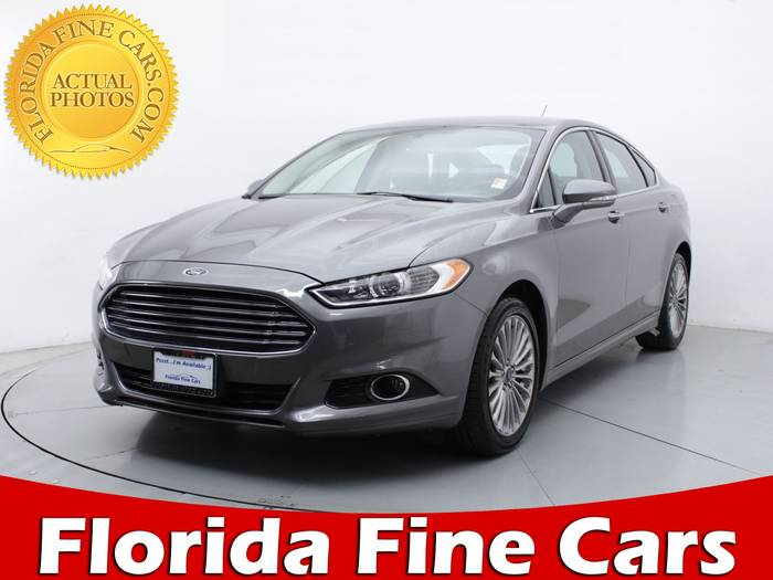 Used FORD FUSION 2014 MIAMI TITANIUM