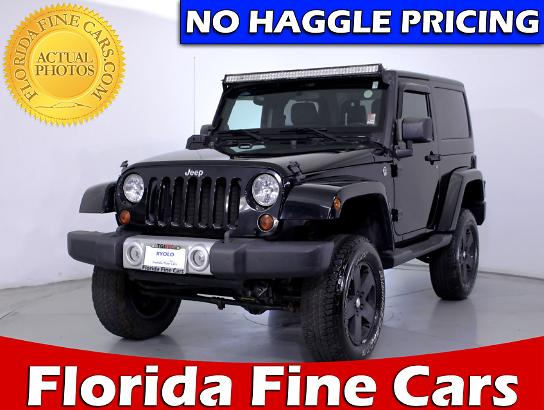 Used JEEP WRANGLER 2011 MIAMI SAHARA