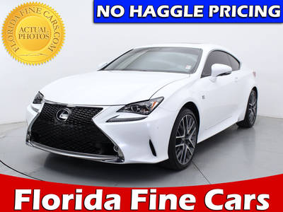 Used LEXUS Rc 350 Awd 2015 WEST PALM F Pkg