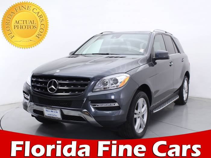 Used MERCEDES-BENZ M CLASS 2014 MIAMI ML350 4MATIC