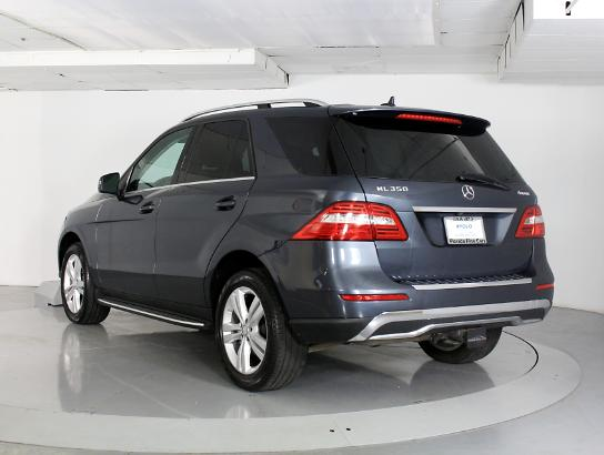Used MERCEDES-BENZ M CLASS 2014 WEST PALM ML350 4MATIC