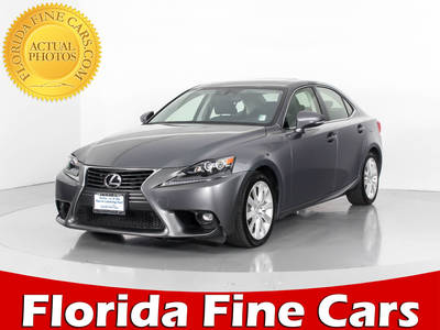 Used LEXUS IS 250 2015 MIAMI Awd