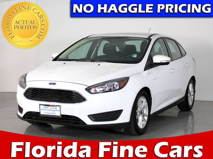 Used FORD FOCUS 2016 WEST PALM SE
