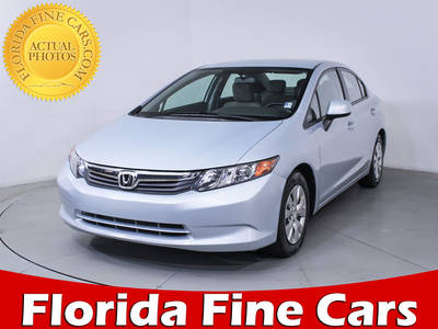 Used HONDA CIVIC 2012 HOLLYWOOD LX