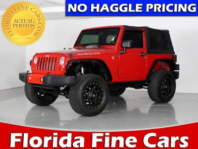 Used JEEP WRANGLER 2012 WEST PALM RUBICON