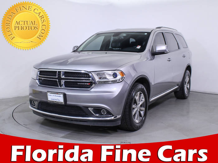 Used DODGE DURANGO 2015 MIAMI Limited Awd