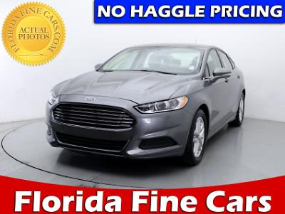 Used FORD FUSION 2014 HOLLYWOOD SE