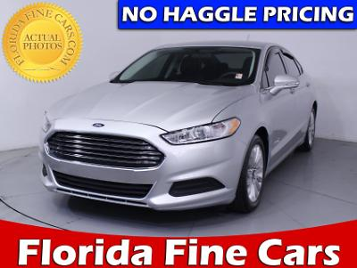 Used FORD FUSION 2015 MIAMI SE HYBRID