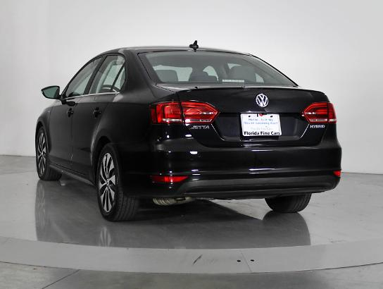 Used VOLKSWAGEN JETTA 2013 WEST PALM SEL HYBRID