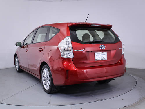 Used TOYOTA PRIUS V 2013 MIAMI Five