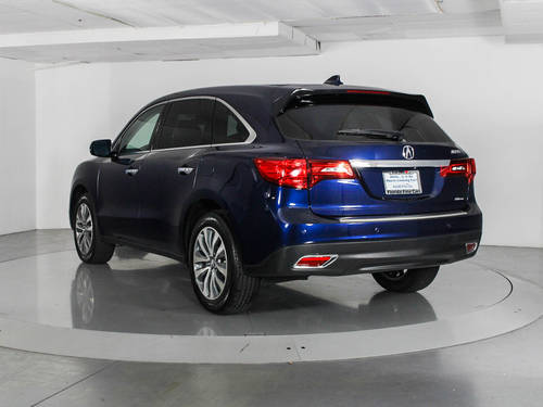 Used ACURA MDX 2016 WEST PALM TECHNOLOGY PACKAGE