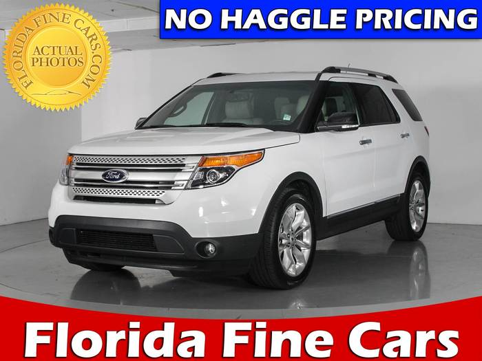 Used FORD EXPLORER 2015 WEST PALM XLT