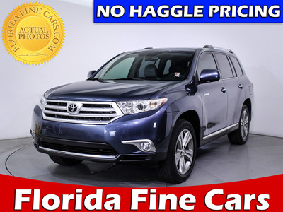 Used TOYOTA HIGHLANDER 2013 MIAMI LIMITED