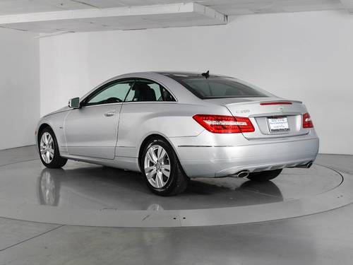 Used MERCEDES-BENZ E CLASS 2012 WEST PALM E350