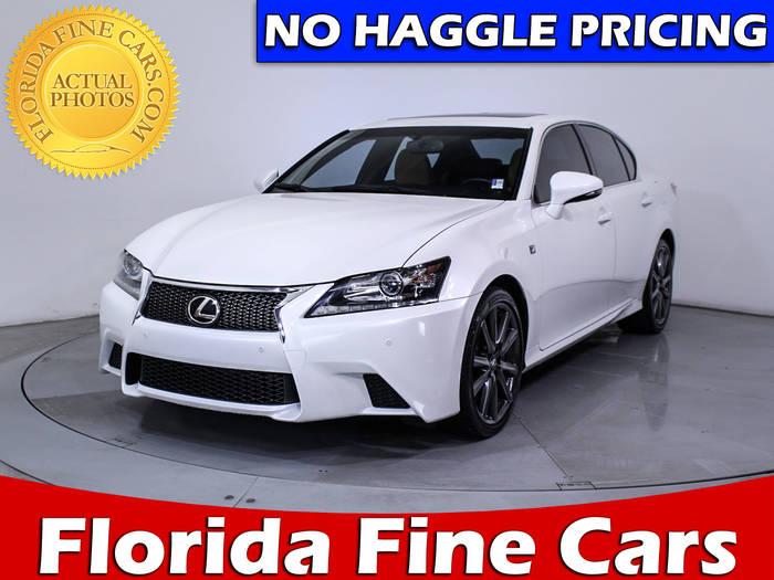 Used LEXUS GS 350 2013 HOLLYWOOD F SPORT