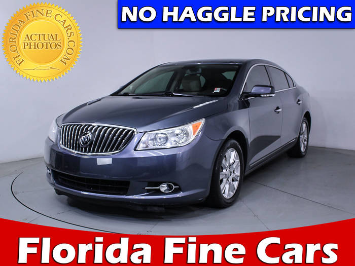 Used BUICK LACROSSE 2013 HOLLYWOOD LEATHER