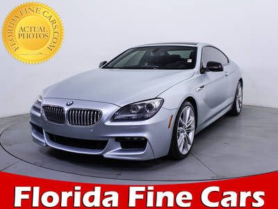 Used BMW 6 SERIES 2013 MIAMI 650I
