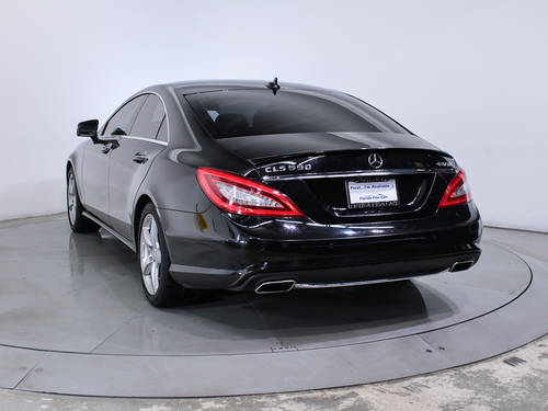 Used MERCEDES-BENZ CLS CLASS 2014 MIAMI CLS550 4MATIC