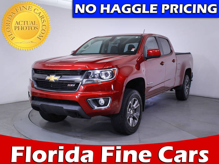 Used CHEVROLET COLORADO 2015 MIAMI Z71 4wd