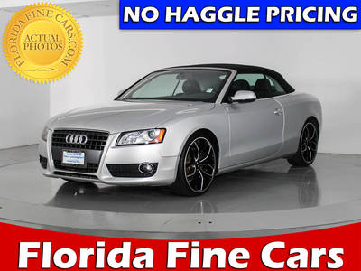 Used AUDI A5 2010 WEST PALM PREMIUM
