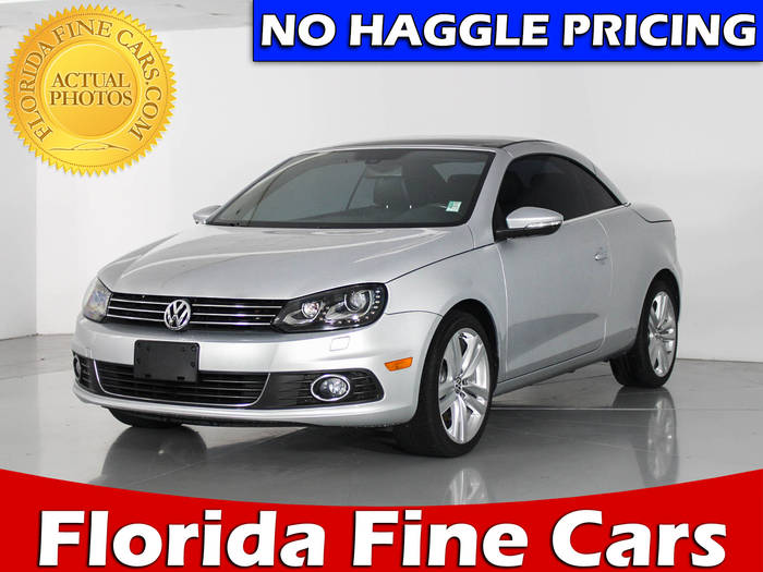 Used VOLKSWAGEN EOS 2015 WEST PALM LUX