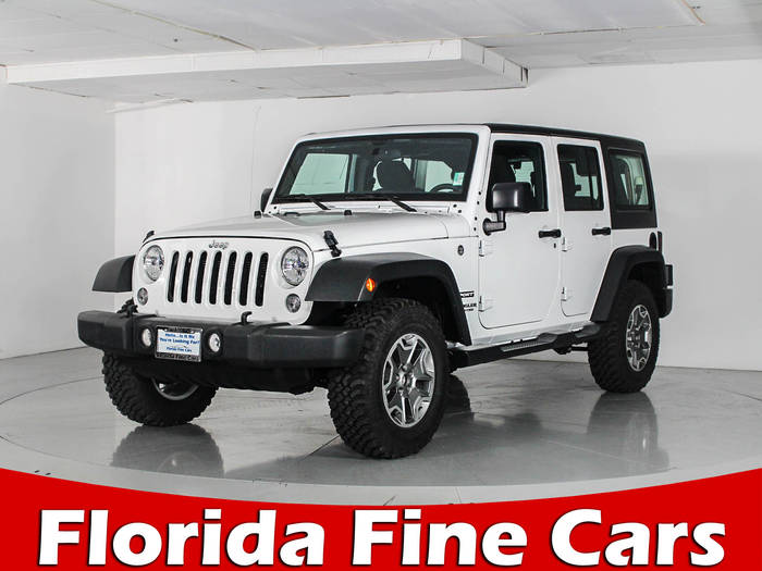 Used JEEP WRANGLER UNLIMITED 2016 WEST PALM SPORT