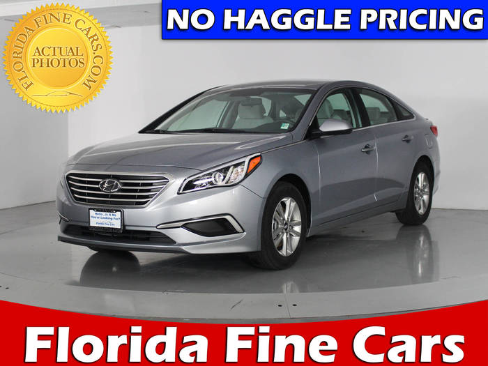 Used HYUNDAI SONATA 2017 WEST PALM SE