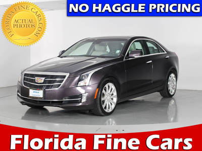 Used CADILLAC ATS 2015 WEST PALM PREMIUM