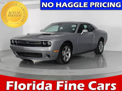 Used DODGE CHALLENGER 2016 WEST PALM SXT