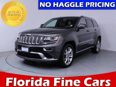 Used JEEP GRAND CHEROKEE 2015 WEST PALM Summit 4wd