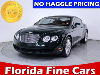 Used BENTLEY CONTINENTAL 2007 WEST PALM GT