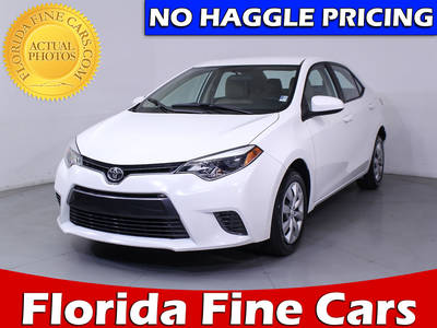 Used TOYOTA COROLLA 2016 HOLLYWOOD LE