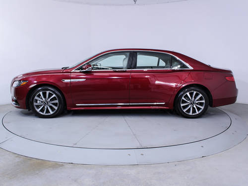 Used LINCOLN CONTINENTAL 2017 MIAMI PREMIER