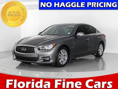 Used INFINITI Q50 2014 WEST PALM
