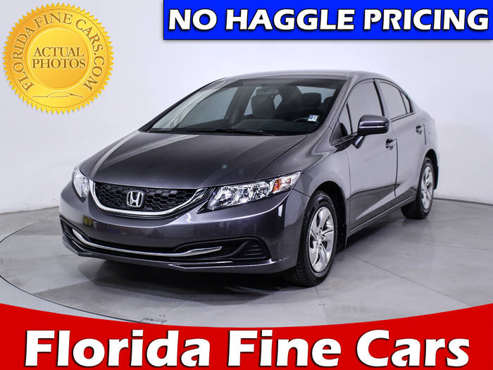 Used HONDA CIVIC 2014 HOLLYWOOD LX