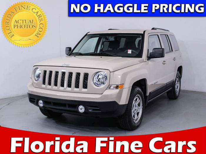 Used JEEP PATRIOT 2017 WEST PALM SPORT