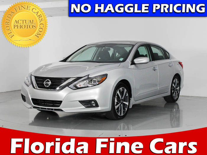 Used NISSAN ALTIMA 2016 WEST PALM SR