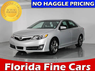 Used TOYOTA CAMRY 2014 WEST PALM SE V6
