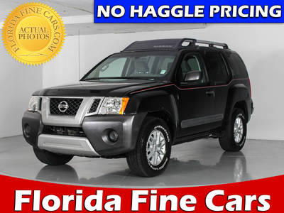 Used NISSAN XTERRA 2014 WEST PALM S